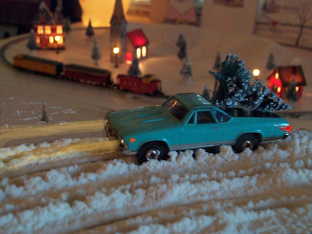 Aurora El Camino with Christmas Tree | geoffreydrake | Flickr