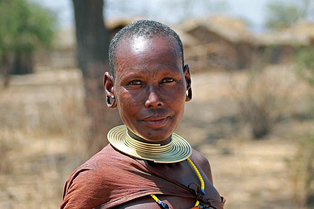 Barabaig Woman Mangati Datooga Tanzania Pius