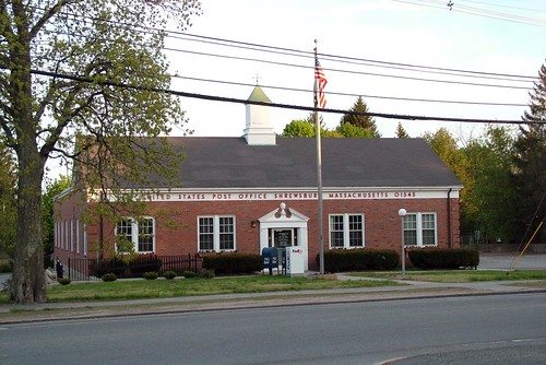 Shrewsbury, MA post office | by PMCC Post Office Photos