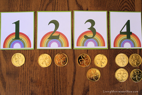 St. Patrick's Day Numbers and Counters Layout | by Deb Chitwood