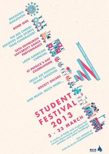 Student festival poster a little island poster design for Little island design