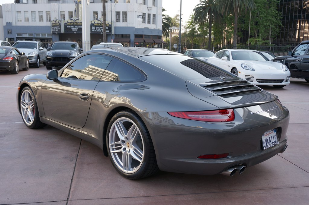 2012 Porsche 911 Carrera S Coupe 991 Agate Grey Black Pdk