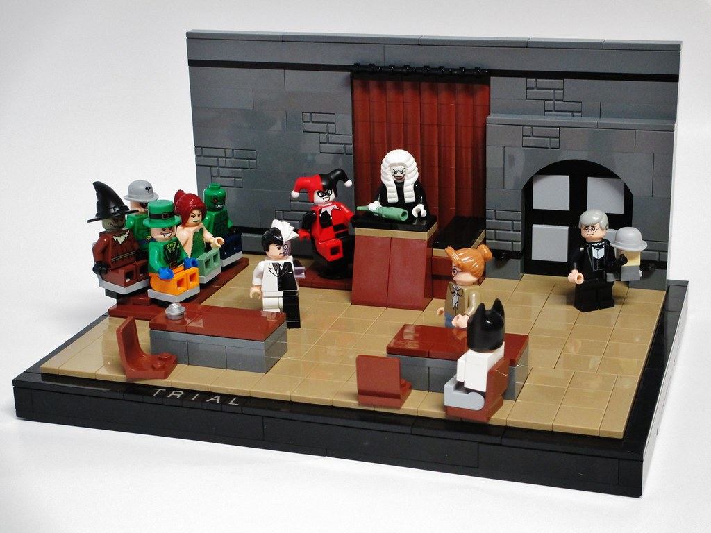 Trial A Recreation Of The Episode Trial From Batman