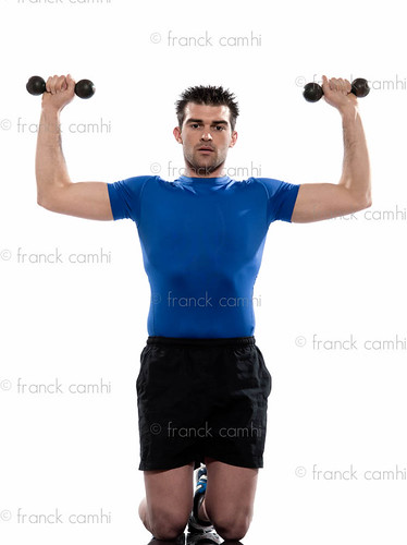 man weight training Worrkout Posture | by Franck Camhi