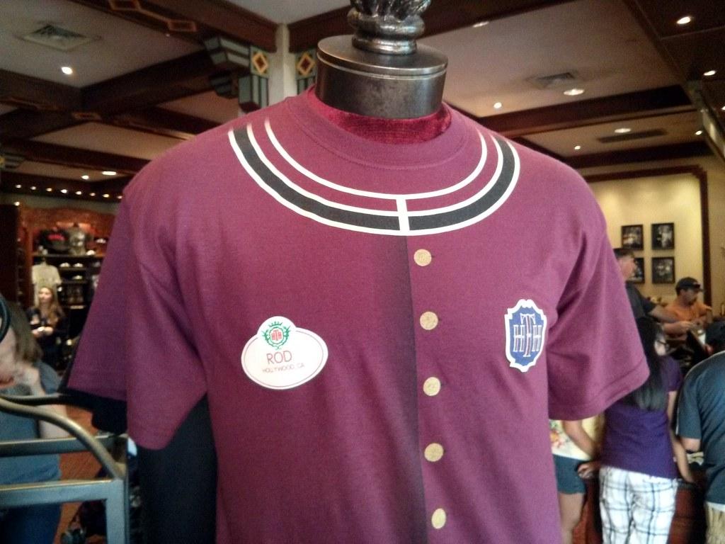 """Bellhop """"Rod"""" tee, Tower of Terror, Disneyland, Anaheim, L ..."""