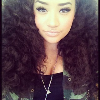 pretty #girl #curly #hair #swag #dope #tumblr | Flickr - Photo ...