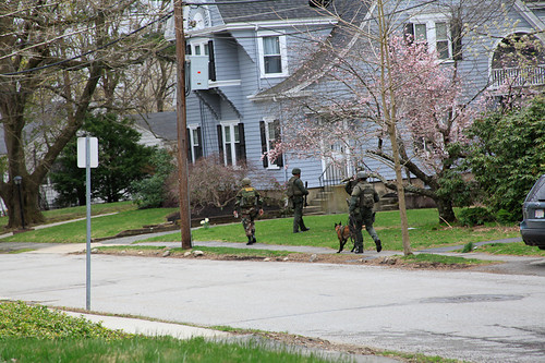 Police Roam MA Suburb In Search Of Boston Bombers | by Talk Radio News Service