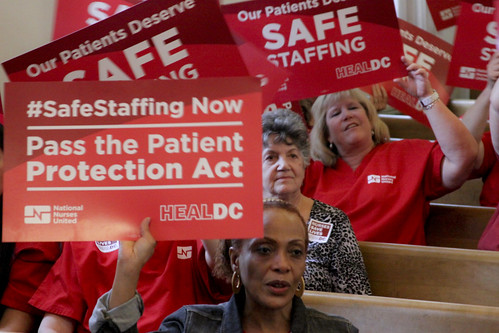 Heal DC — Safe Staffing Rally | by National Nurses United