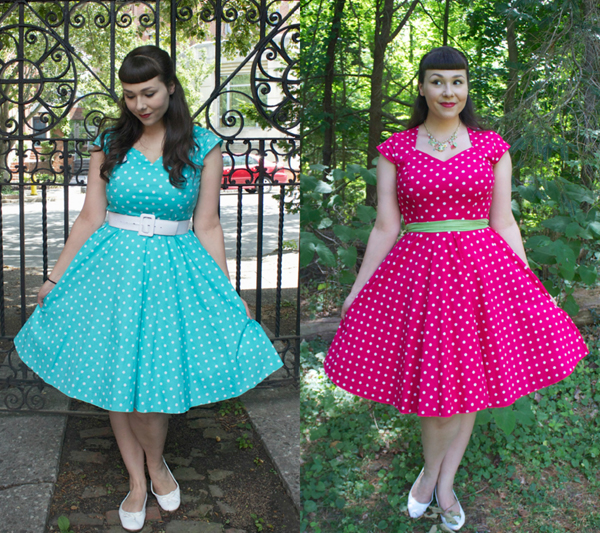 polka dot dress le bomb shop