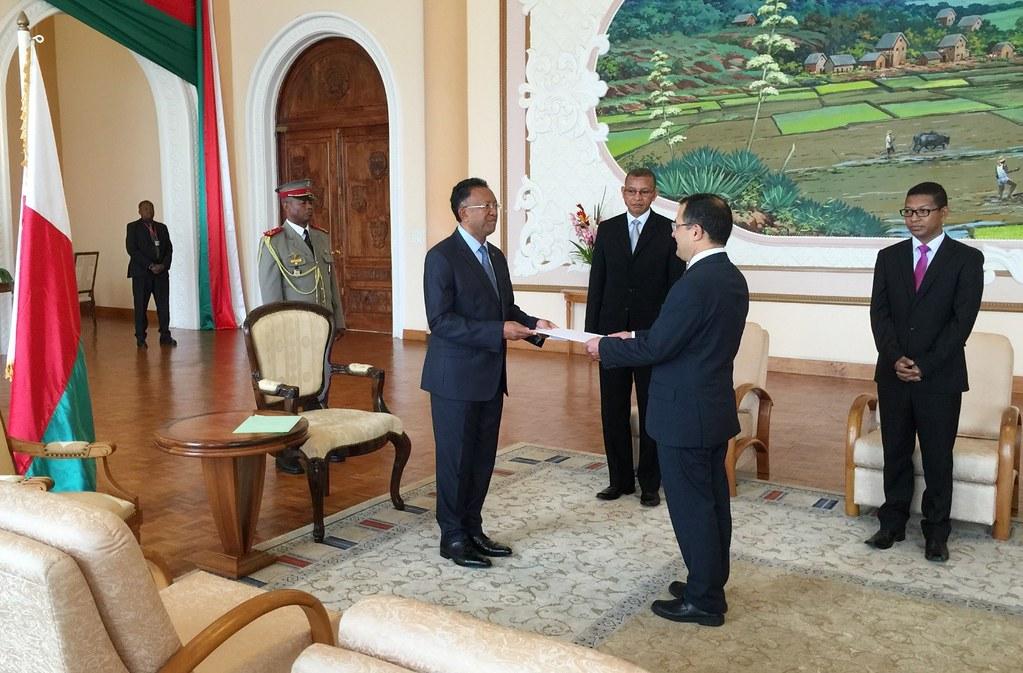 El embajador de México en Sudáfrica presentó cartas credenciales
