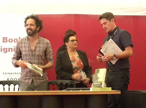 Zaffar Kunial, Jackie Kay and Nick Barley