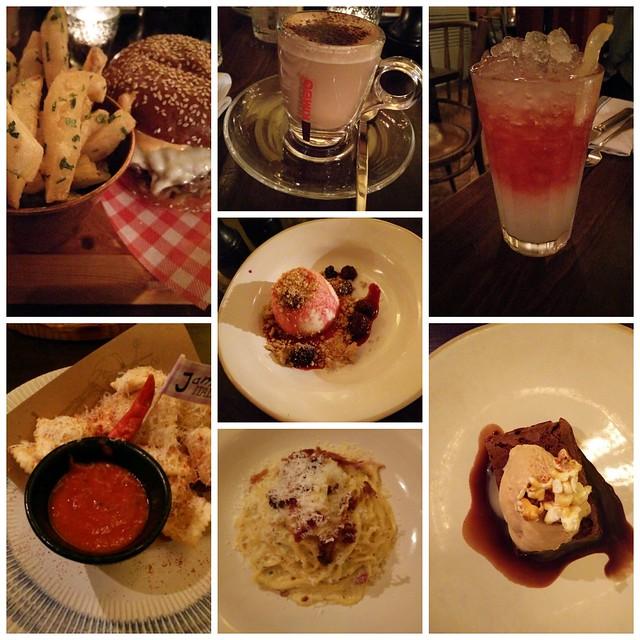 Jamie's Italian food