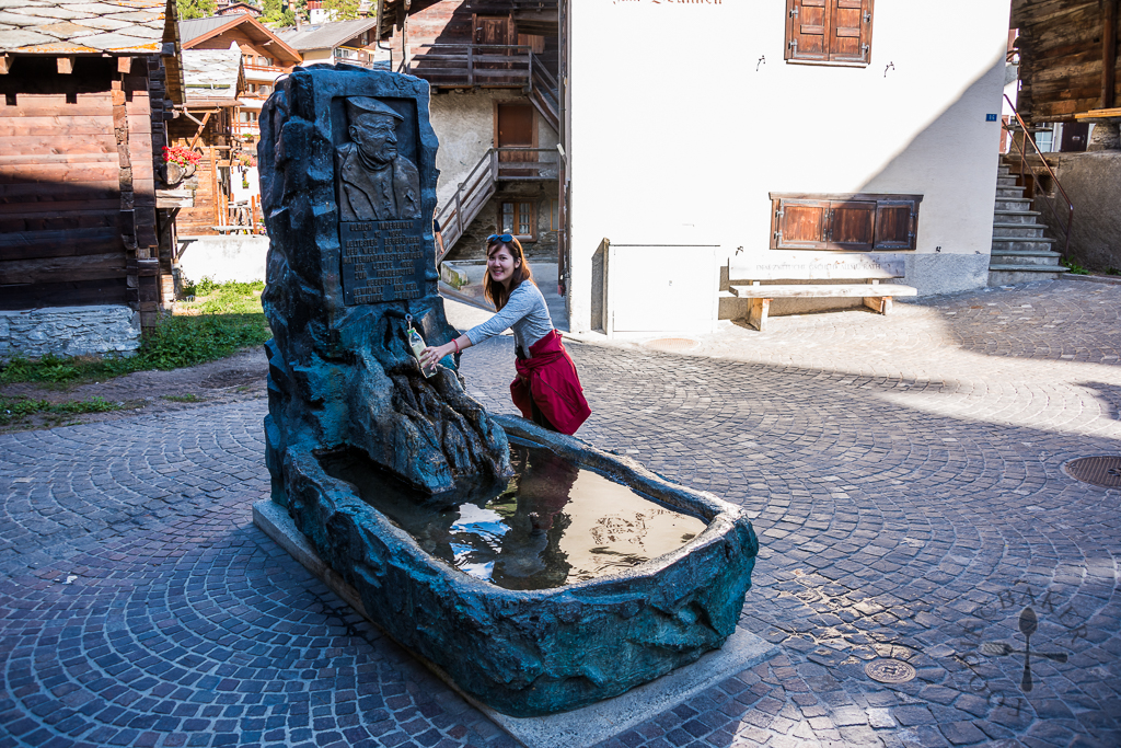 Switzerland-fountain
