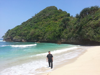 Me At Pantai Clungup | by BangGanteng