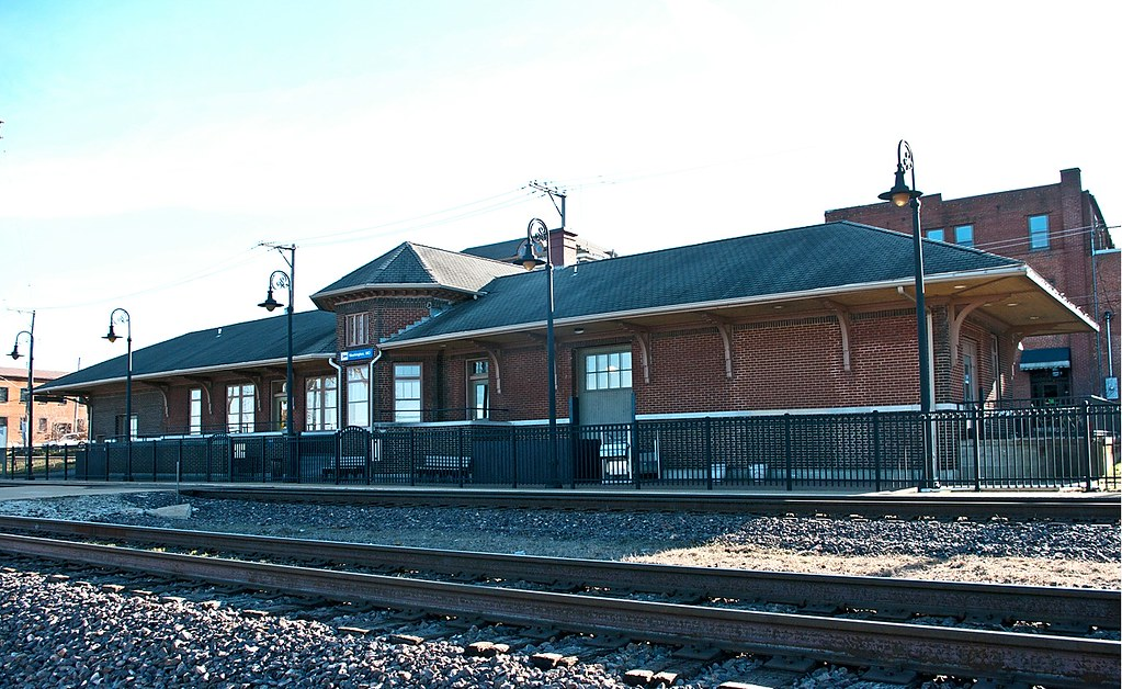 washington mo train station built by missouri pacific. Black Bedroom Furniture Sets. Home Design Ideas