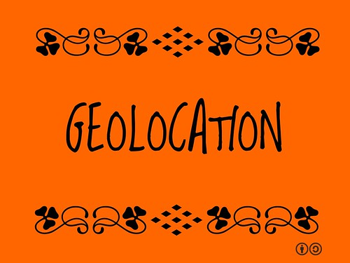 Buzzword Bingo: Geolocation = Technological process of determining the geographical location of an Internet user