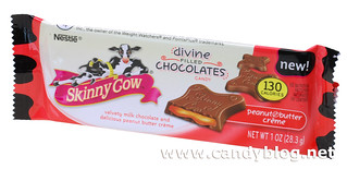 Skinny Cow Divine Filled Chocolates with Peanut Butter Creme | by cybele-
