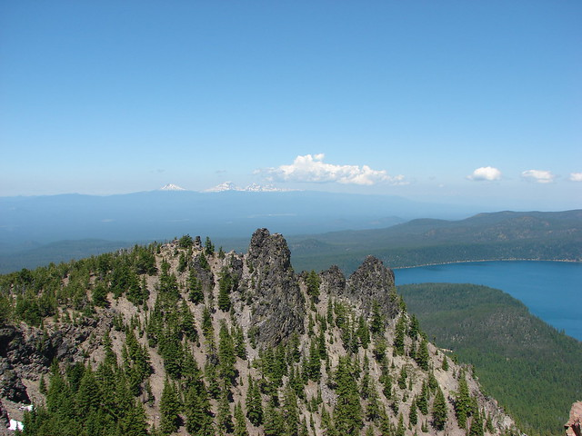 View from Paulina Peak