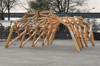 Reciprocal frame structure | by Lorenz Lachauer