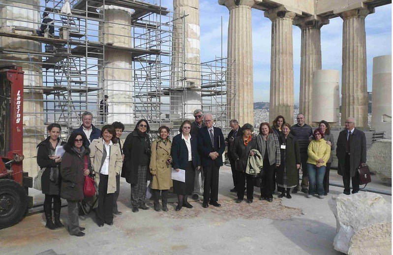 ESMA (Committee for the Conservation of the Acropolis Monuments), Athens, GREECE