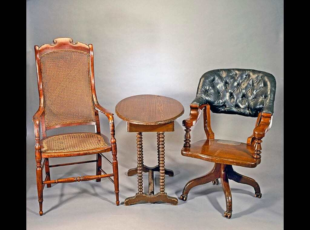 Grant And Lee S Chairs From Appomattox Surrender On