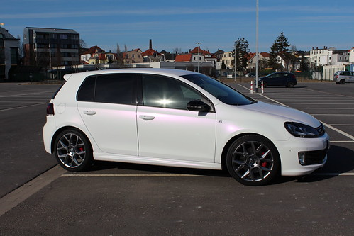 Golf Gti Edition 35 Pearl White Gloss Variochrome Flickr