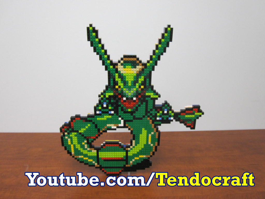 lego rayquaza rayquaza the beast of the sky pillar