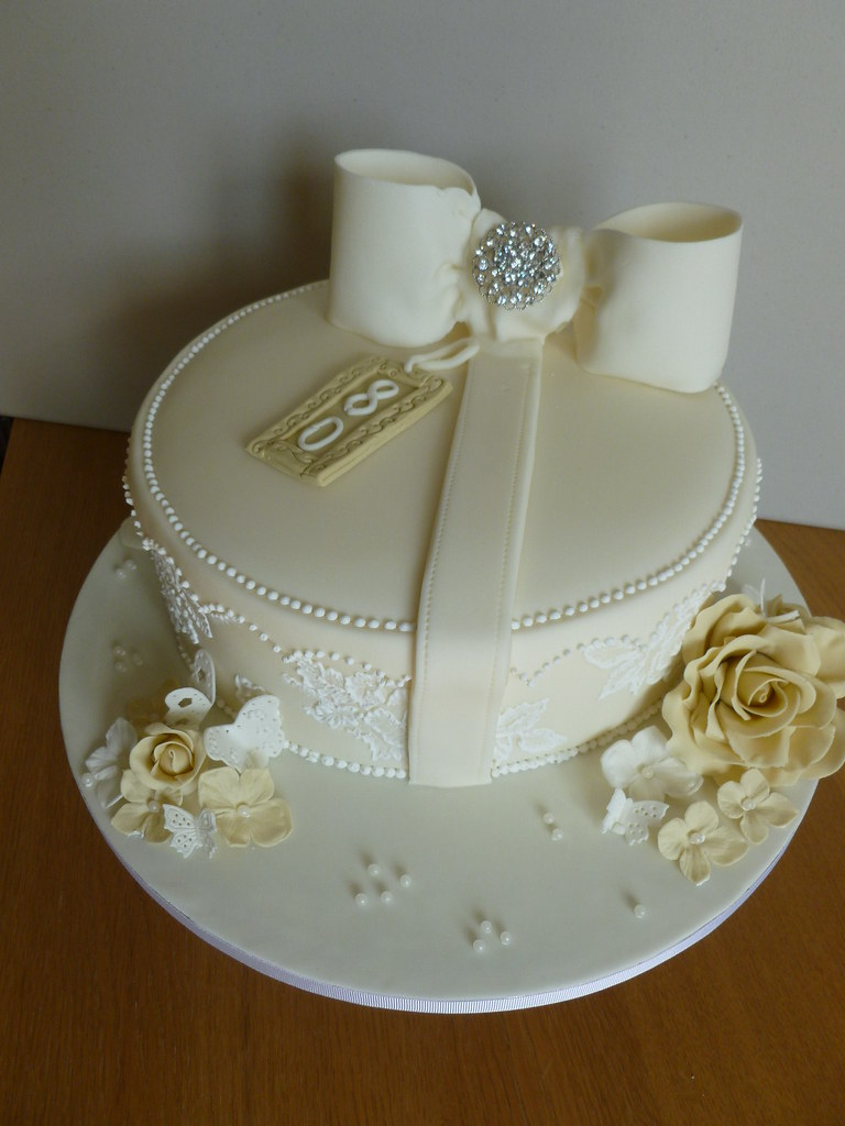 80th Birthday Cake 29 March 026 80th Birthday Cake Heavily Flickr