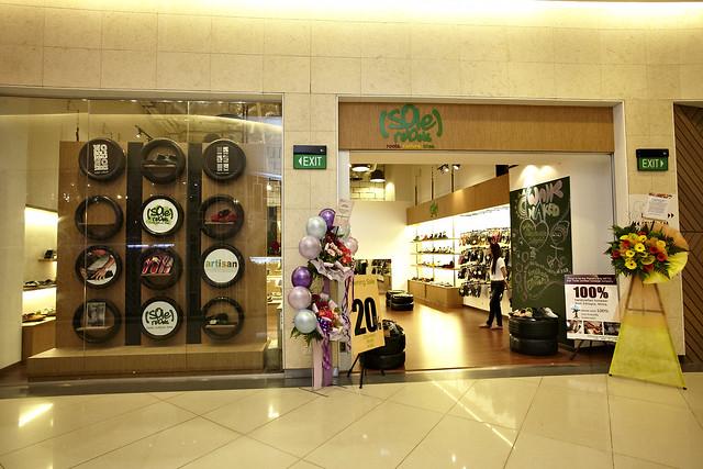 soleRebels Singapore Retail Store