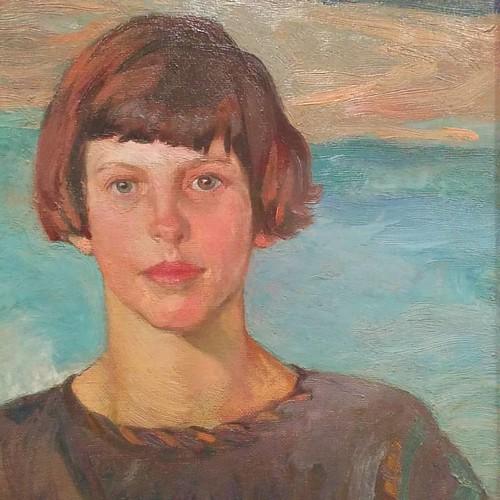 From Study of Joan (Fairley), F.H. Varley #toronto #artgalleryofontario #ago #fhvarley #joanfairley