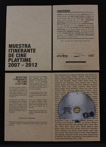 DVD cinco años muestra playtime | by Playtime Audiovisuales