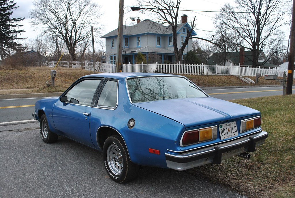 1977 Chevy Monza 350 auto flippin fast this car gets it