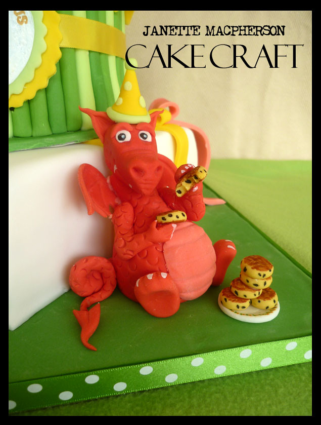 Dragon Birthday Cake Topper