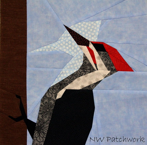 Block 1- Woodpecker | by nwpatchwork