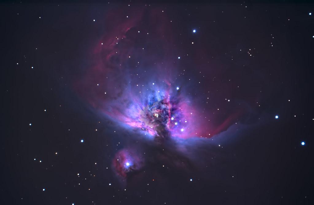 The Orion Nebula   M42, the great Orion Nebula, a star