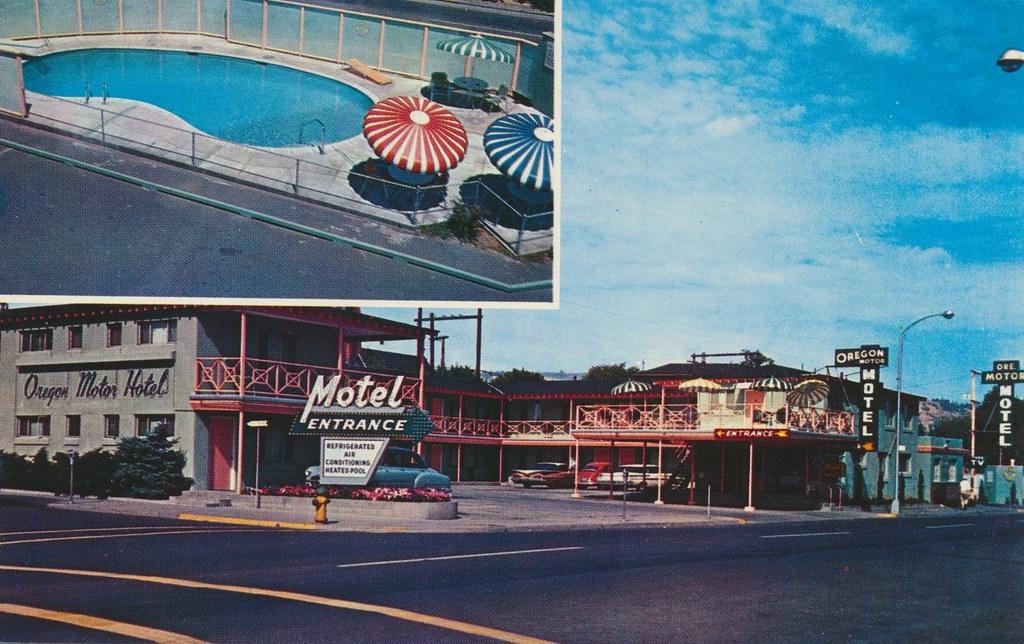 Oregon Motor Hotel - The Dalles, Oregon
