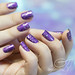 purple with a purpose + soft pastels