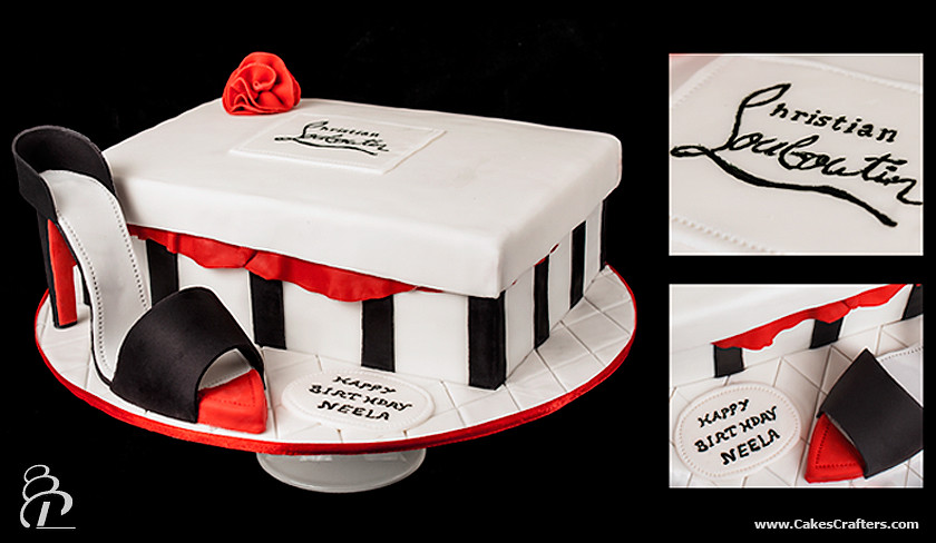 christian louboutin shoe box cake | Landenberg Christian Academy ...