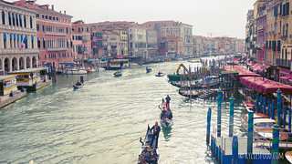 View from Rialto Bridge | by KyliesFood