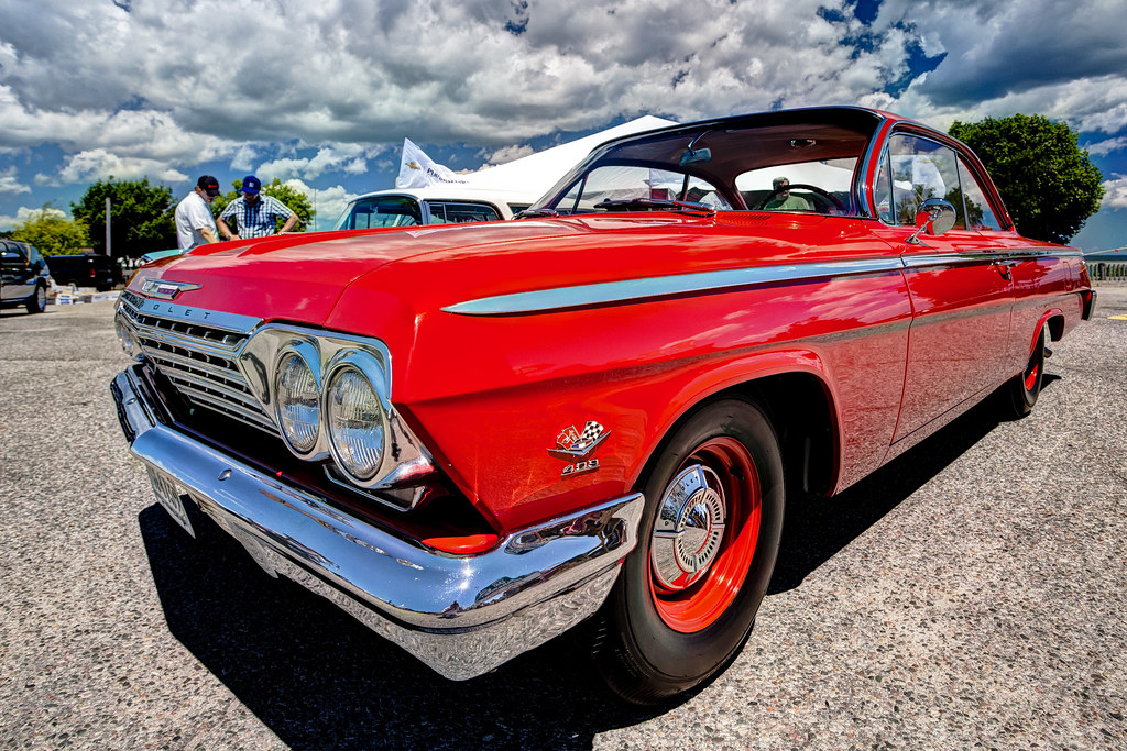 Chevy Bel Air HDR Th Annual Car Show At St Ignace M Flickr - Thomas chevy car show