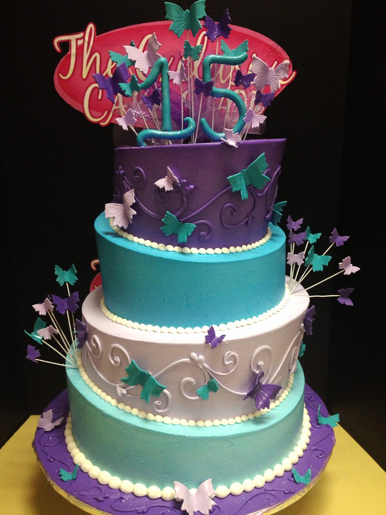 wedding cakes turquoise and purple turquoise and purple quince cake exclusive cake shop 25793