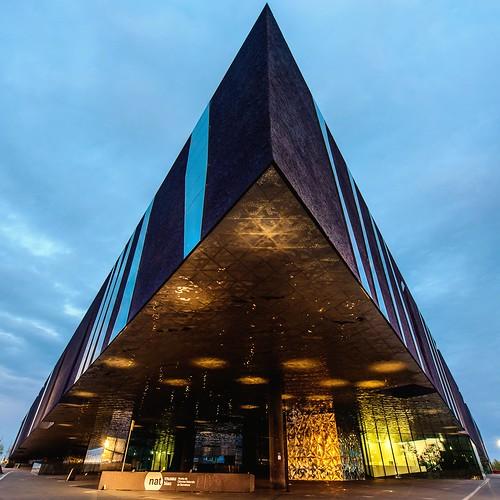 Barcelona Fc Foto >> Barcelona Forum Building av arkitekt Herzog & de Meuron | Flickr