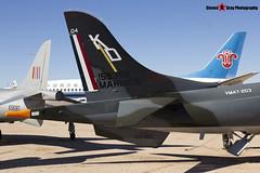 159382 KD 04 - 212022 8 - US Marines - Hawker Siddeley TAV-8A Harrier - Pima Air and Space Museum, Tucson, Arizona - 141226 - Steven Gray - IMG_8134