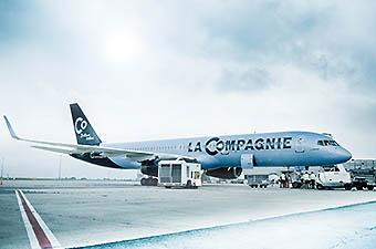 La Compagnie B757-200 (La Compagnie)