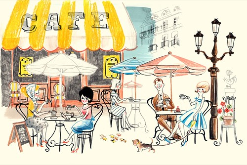 Paris Café | For a How to draw Parragon book. | Luc | Flickr