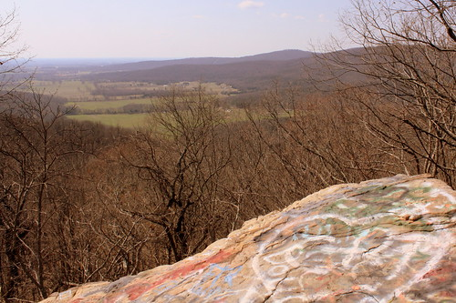 Big Rock & Scenic Overlook - Sewanee, TN