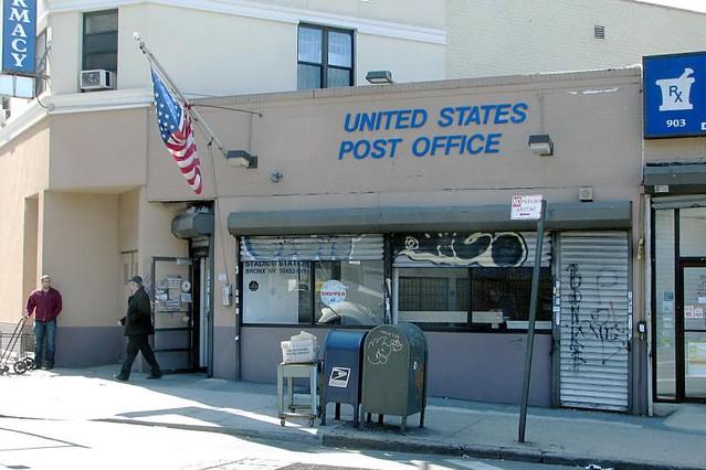 Bronx Ny Stadium Station Post Office Flickr Photo Sharing
