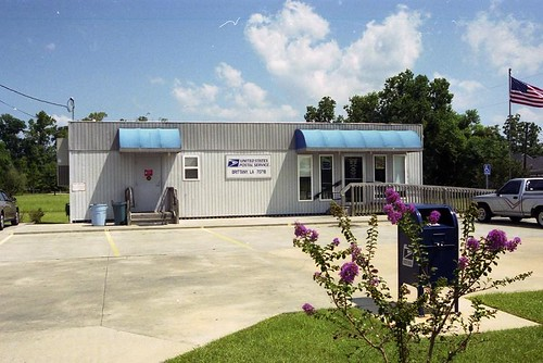 Brittany, LA post office | by PMCC Post Office Photos