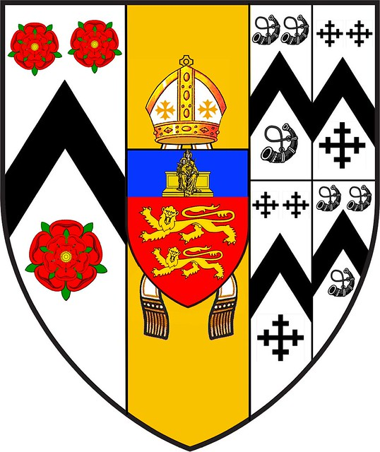 A D 1509 Brasenose College Oxford University Coat Of