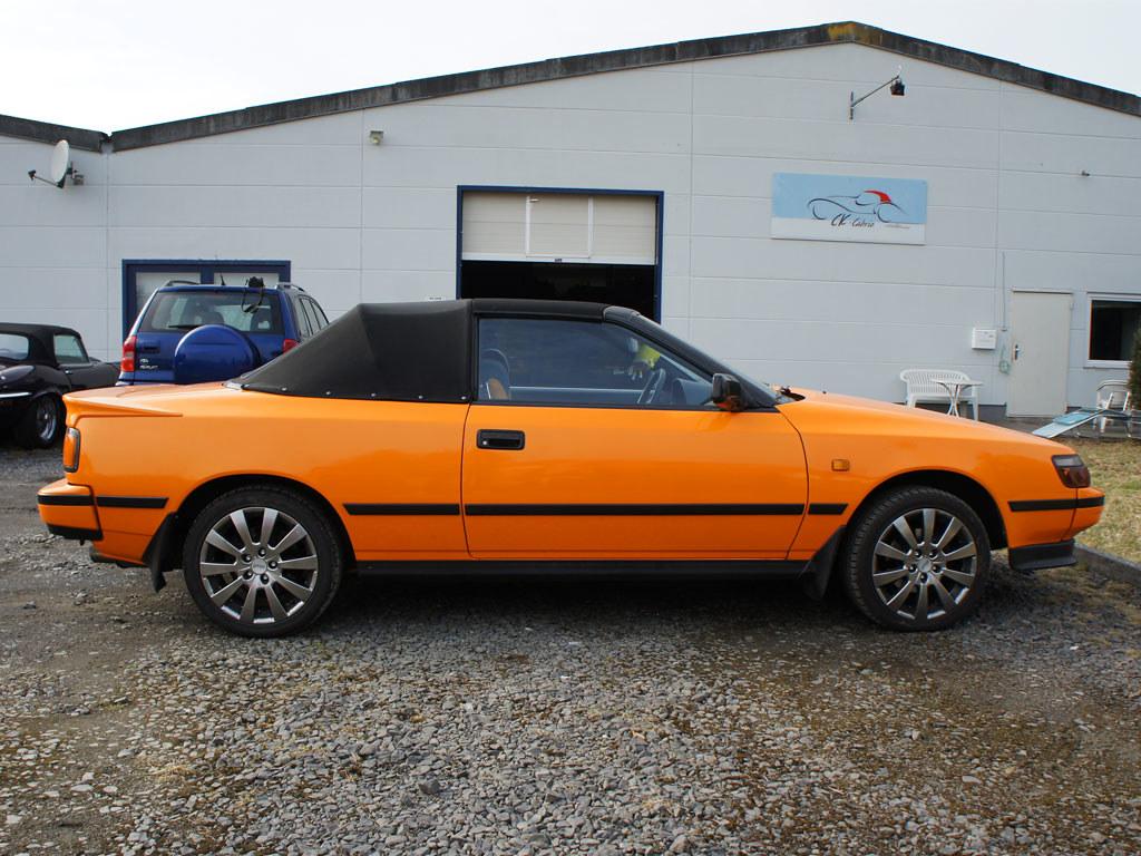 Toyota Celica T16 Cabrio Verdeck Os 07 F 252 R Weitere